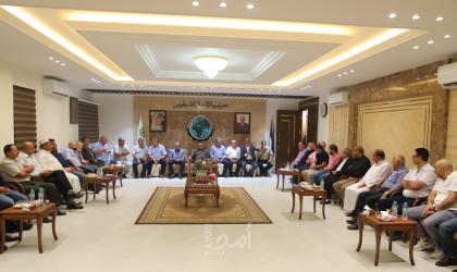 جمعية رجال الأعمال بغزة تتبادل التهاني مع أعضائها بمناسبة عيد الأضحى