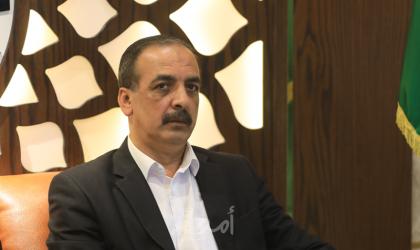الحايك يطالب بإدخال المزيد من مواد البناء والبضائع لقطاع غزة