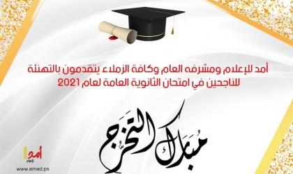 أسماء أوائل الثانوية العامة في المعاهد الأزهرية بقطاع غزة