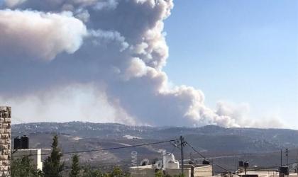 حرائق هائلة في اسرائيل واخلاء مستوطنات قريبة من القدس_فيديو وصور