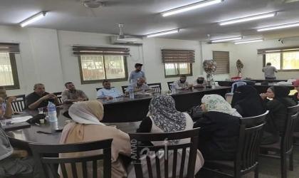 غزة: لجان المسائلة بالبريج تعقد اجتماعًا وتنتخب أعضاء لتمثيلها