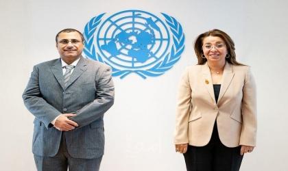 """""""العسومي"""" يوقع أول اتفاقية من نوعها بين البرلمان العربي والأمم المتحدة"""