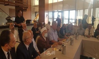 لجنة المتابعة تستقبل وفداً واسعاً من الشخصيات الدينية والوطنية المقدسية