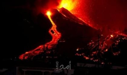 شاهد: بركان لا بالما في جزر الكناري
