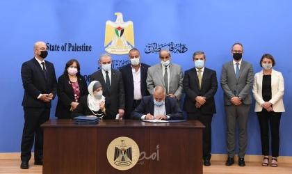 رام الله: توقيع المرحلة الأولى من مخصصات الصناديق العربية والإسلامية