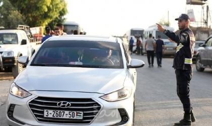 مرور غزة: (24) إصابة في 65 سير خلال الأسبوع الماضي