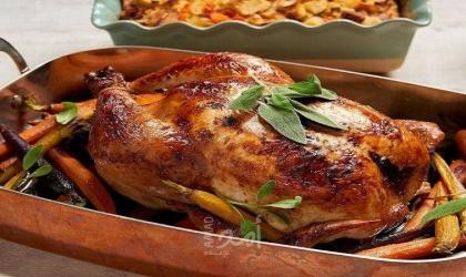 طريقة عمل الدجاج المحشي بالفريك