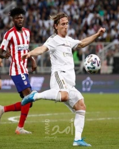 """بالفيديو .."""" الملكي"""" ريال مدريد يفك عقدة سانتياجو برنابيو امام أتلتيكو مدريد بهدف دون رد"""
