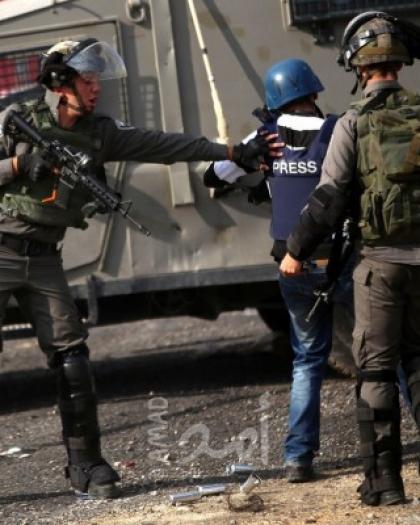 مدى: 17 اعتداء ضد الحريات الإعلامية في فلسطين خلال سبتمبر