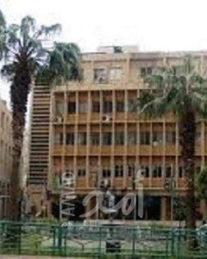 بلدية نابلس تقرر  إغلاق المبنى الرئيسي ليومين بعد إصابة أحد موظفيها بفيروس كورونا