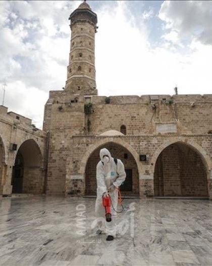"""أوقاف حماس تُغلق مسجد بمخيم جباليا حتى إشعار آخر بسبب """"كورونا"""""""