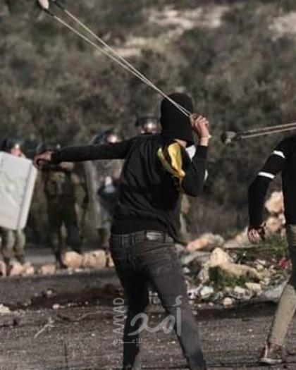 إصابات بالاختناق خلال قمع جيش الاحتلال لمسيرة كفر قدوم