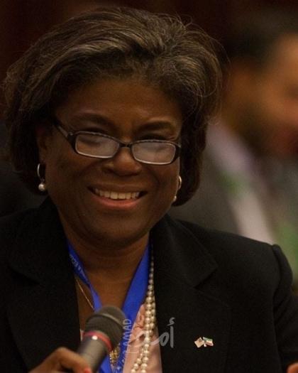 مجلس الشيوخ الأمريكي يوافق على تعيين ليندا غرينفيلد سفيرة لدى الأمم المتحدة