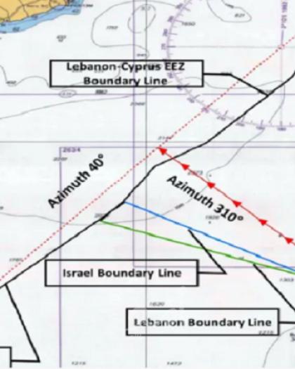 ج.بوست: إسرائيل تحول الخط الأزرق إلى أحمر  لترسيم الحدود البحرية