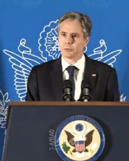 بلينكن: سنعمل مع أي حكومة تتولى السلطة بإسرائيل