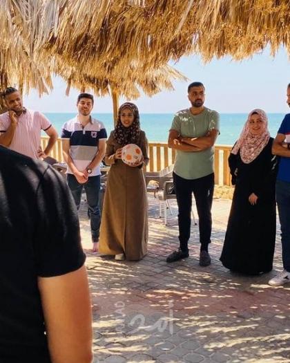 فلسطينيات تنظم رحلة دعم نفسي لنادي المناظرات