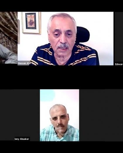 مناقشة تقرير  البنك الدولي والأمم المتحدة والاتحاد الأوربي حول إعمار غزة