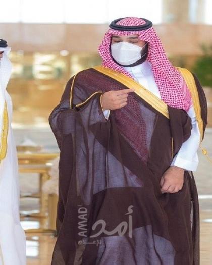 بن سلمان يستقبل ولي عهد أبوظبي في الرياض