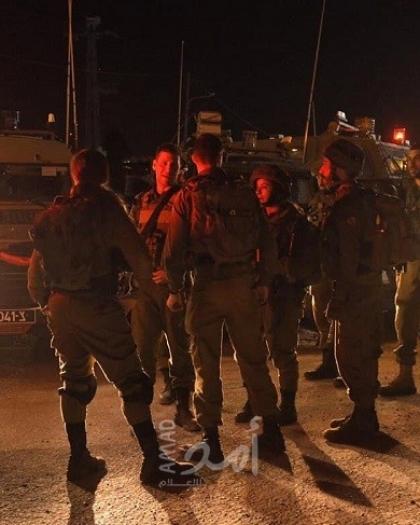 جيش الاحتلال ينفذ مناورات عسكرية غرب جنين