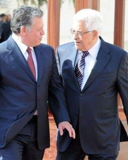 الرئيس عباس والعاهل الأردني يتبادلان التهاني بعيد الأضحى
