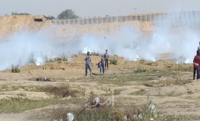 مراسلة أمد: الانفجارات التي تسمع شرق غزة  ناجمة عن تفجير جيش الاحتلال لقنابل صوتية