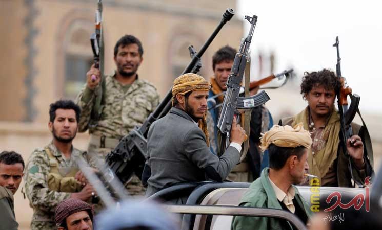 مصدر  حوثي: 7 طائرات مسيرة تنفذ عملية عسكرية واسعة على عدة منشآت حيوية سعودية - أمد للإعلام